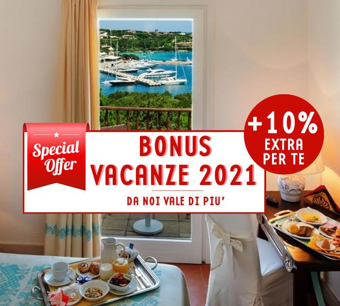 Bonus Vacanze 2021 Luci di La Muntagna Porto Cervo